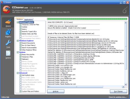 الكمبيوتر CCleaner 5.44.6575 احدث اصدار